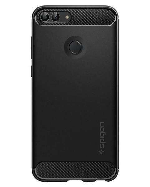 Spigen Kryt na mobil Spigen Rugged Armor na Huawei P Smart čierny