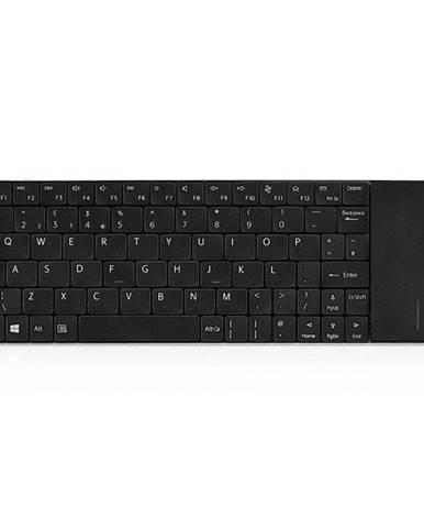 Klávesnica Rapoo E2710, CZ+SK layout čierna
