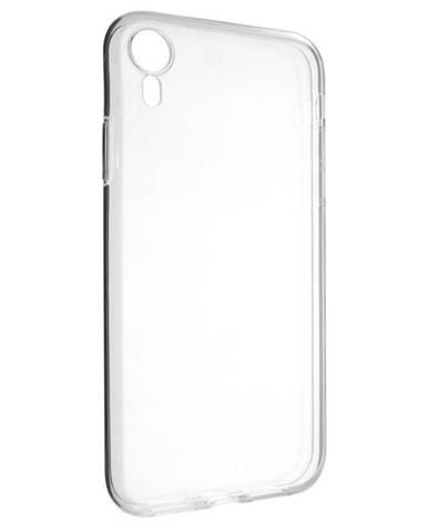 Kryt na mobil Fixed Skin na Apple iPhone XR priehľadný