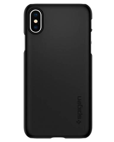 Kryt na mobil Spigen Thin Fit na Apple iPhone Xs/X čierny