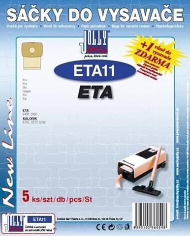 Sáčky pre vysávače Jolly ETA 11