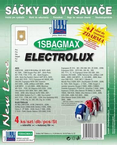Sáčky pre vysávače Jolly MAX 1S BAG