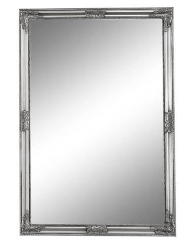 Zrkadlo strieborný drevený rám MALKIA TYP 11