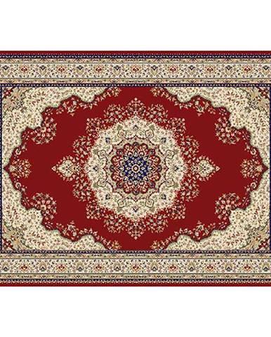 Koberec vínovočervená/mix farieb/vzor 160x235 KENDRA TYP 3