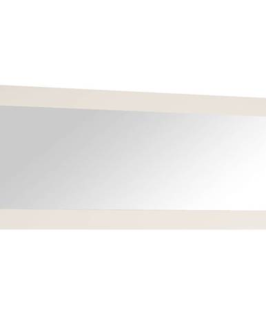 Zrkadlo veľké biela extra vysoký lesk HG LYNATET TYP 121