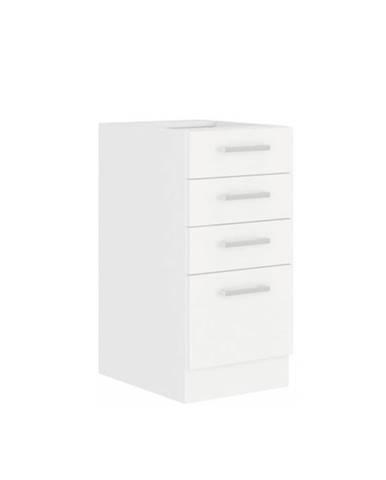 Spodná skrinka biela SPLIT 40 D 4S BB