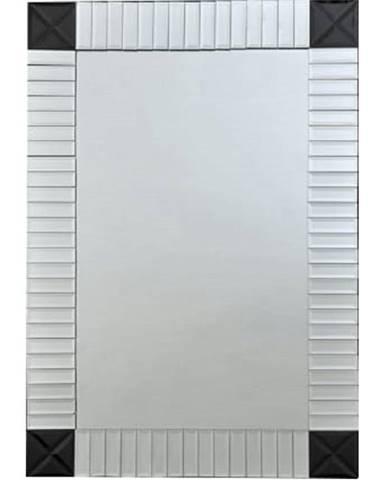 Zrkadlo strieborná/čierna ELISON TYP 3