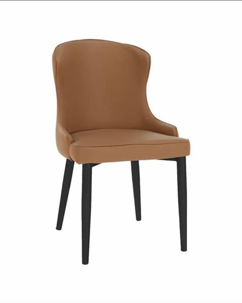 Tempo Kondela Jedálenská stolička hnedá/čierna SIRENA