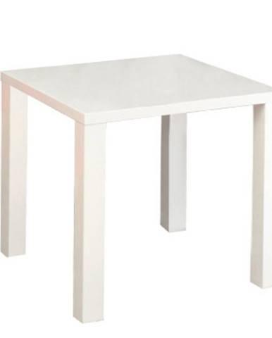 Jedálenský stôl biela vysoký lesk HG ASPER NEW TYP 5