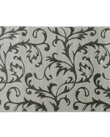 Koberec krémová/sivý vzor 160x235 GABBY