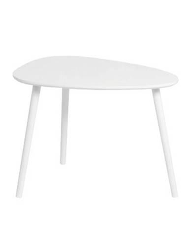 Príručný stolík biela DANZ