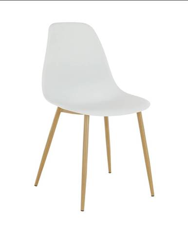 Stolička biela/prírodná SINTIA
