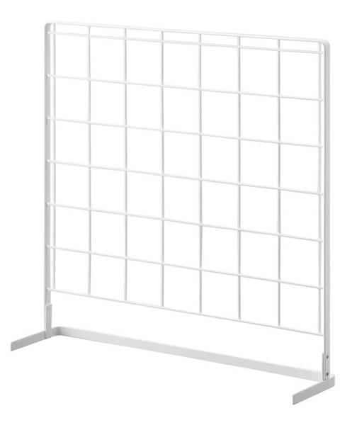 YAMAZAKI Biely kuchynský mriežkový panel YAMAZAKI Tower Grid, 52 x 52 cm