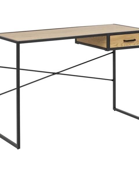 Actona Písací stôl Actona Seaford, dĺžka 110 cm