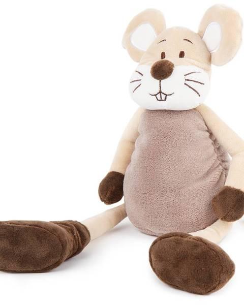 Fieldmann Boma Plyšová myš dlhé nohy, 40 cm