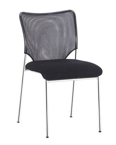 Zasadacia stolička čierna/chróm ALTAN