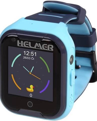 Inteligentné hodinky Helmer LK709 dětské s GPS lokátorem modrý
