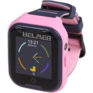 Inteligentné hodinky Helmer LK709 dětské s GPS lokátorem ružový