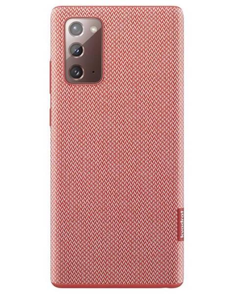 Samsung Kryt na mobil Samsung Kvadrat na Galaxy Note20 červený