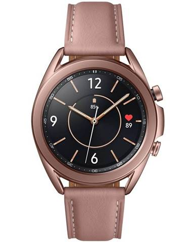 Inteligentné hodinky Samsung Galaxy Watch3 41mm bronzové
