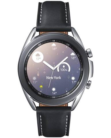 Inteligentné hodinky Samsung Galaxy Watch3 41mm strieborné