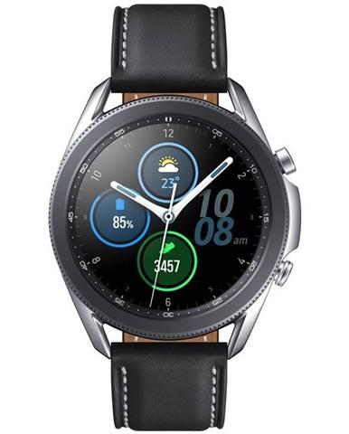 Inteligentné hodinky Samsung Galaxy Watch3 45mm strieborné