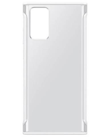 Kryt na mobil Samsung Galaxy Note20 biely/priehľadný