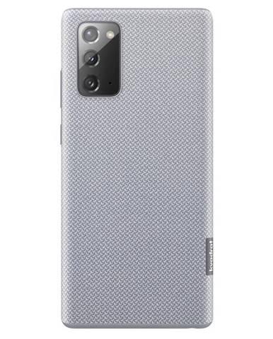 Kryt na mobil Samsung Kvadrat na Galaxy Note20 sivý