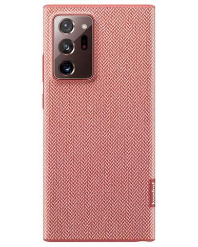 Kryt na mobil Samsung Kvadrat na Galaxy Note20 Ultra červený