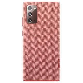 Kryt na mobil Samsung Kvadrat na Galaxy Note20 červený