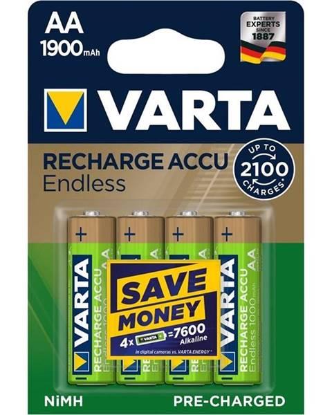 Varta Batéria nabíjacie Varta Endless HR06, AA, 1900mAh, Ni-MH, blistr