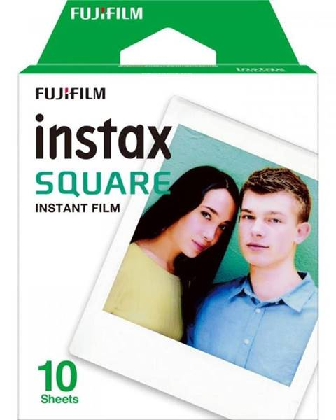 Fujifilm Instantný film Fujifilm Instax Square White 10ks