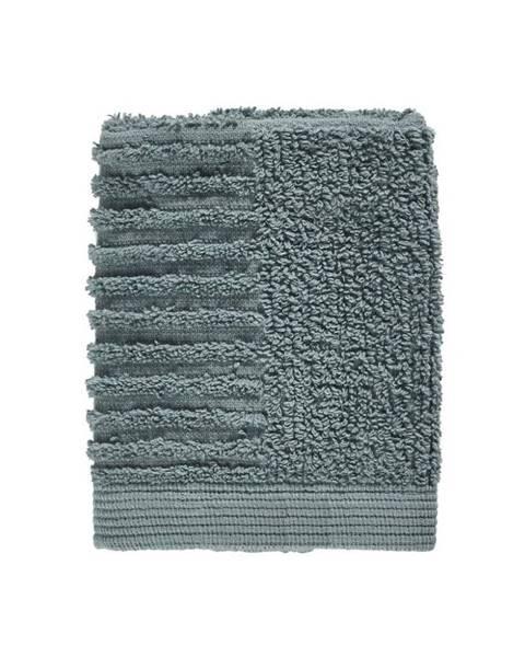 Zone Petrolejovozelený uterák zo 100% bavlny na tvár Zone Classic Petrol Green, 30×30 cm