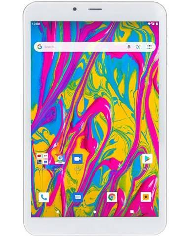 Tablet  Umax VisionBook T8 3G strieborný/biely