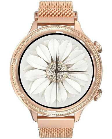 Inteligentné hodinky Carneo Gear+ Deluxe zlaté