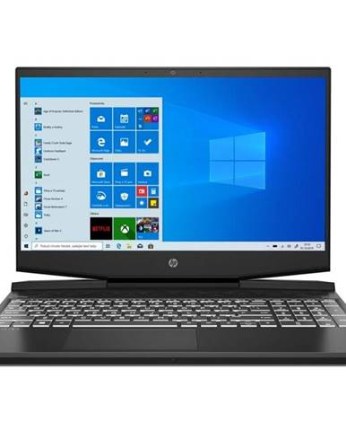 Notebook HP Pavilion Gaming 15-dk1602nc čierny/biely