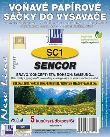 Sáčky pre vysávače Jolly 3111S SC 1 Sencor