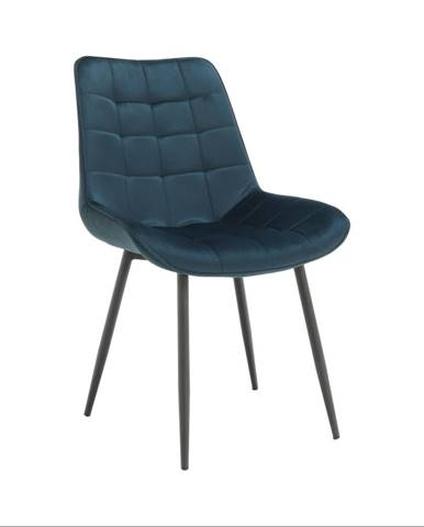 Stolička modrá/čierna SARIN
