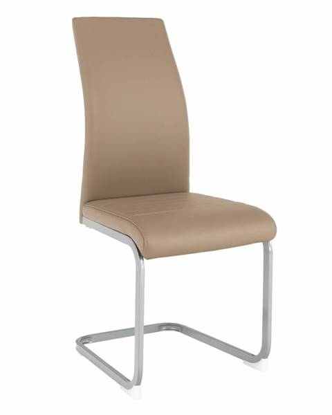 Tempo Kondela Jedálenská stolička sivohnedá TAUPE/sivá NOBATA rozbalený tovar