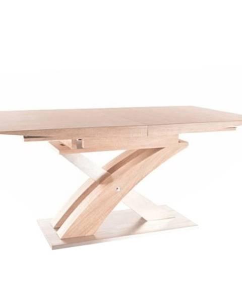 Tempo Kondela Jedálenský stôl dub sonoma BONET poškodený tovar