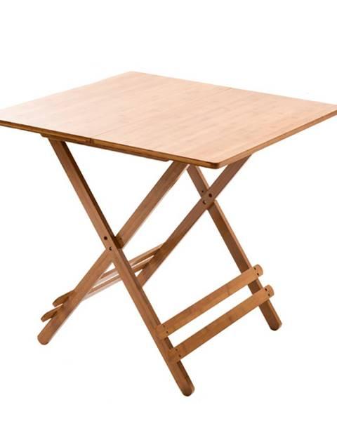 Tempo Kondela Stôl prírodný bambus DENICE