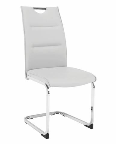 Jedálenská stolička svetlosivá TOSENA rozbalený tovar