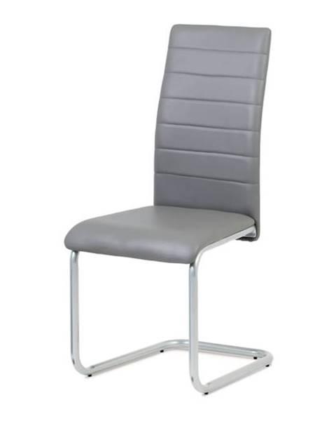 Sconto Jedálenská stolička LILY sivá