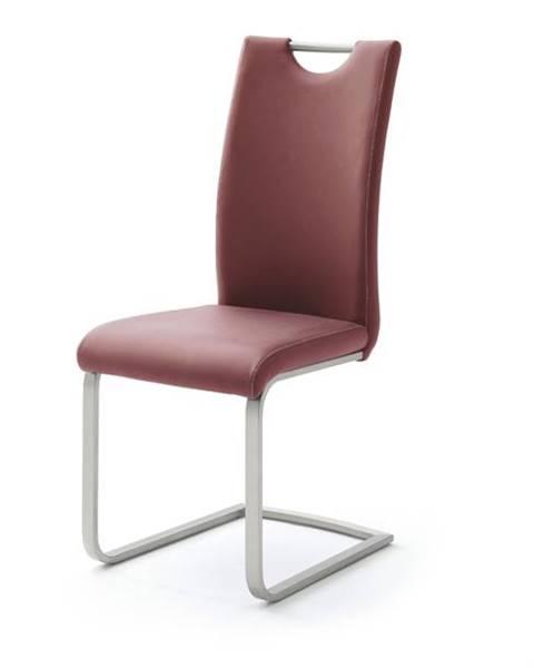 Sconto Jedálenská stolička PIPER bordó