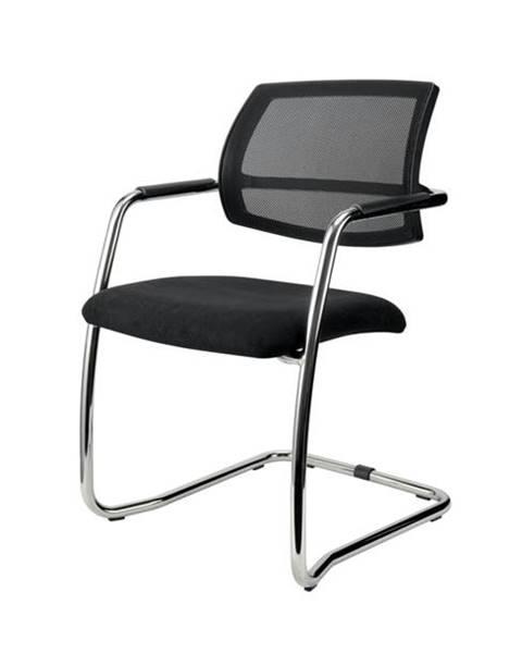 Sconto Konferenčná stolička OLYMPUS čierna