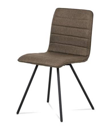 Jedálenská stolička ABIGALE hnedá