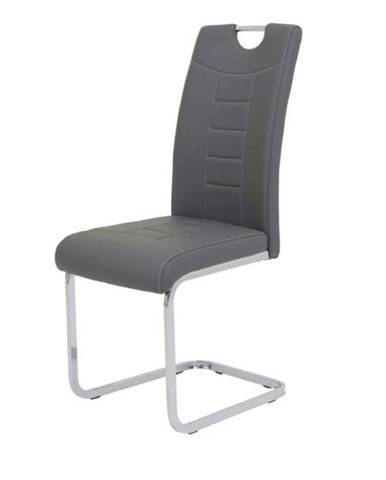 Jedálenská stolička RUBY S sivá