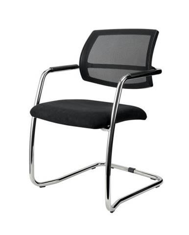 Konferenčná stolička OLYMPUS čierna