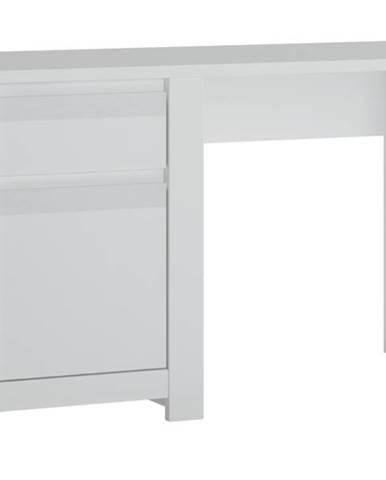 Písací stôl NOVI biela