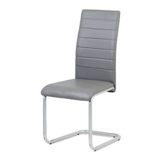 Jedálenská stolička LILY sivá